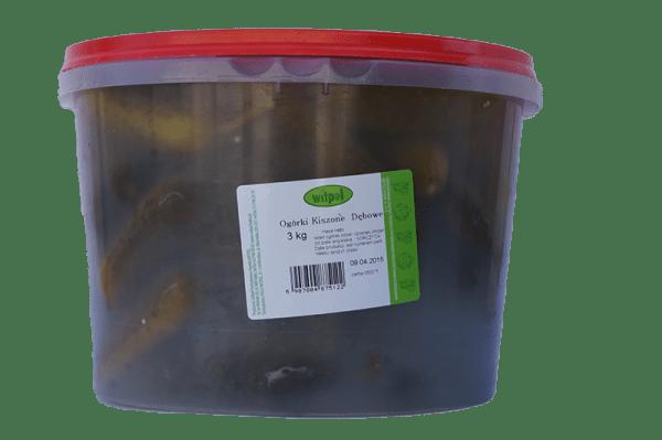 Ogórki kiszone Dębowe 3kg